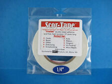 "Scor-Pal 202  ""Scor-Tape""  1/4th  Width x 27 Yards Long  NEW"