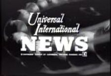 UNIVERSAL NEWSREELS 1950S  5 AND 1/2 HOURS+ ON 2 DVDS