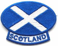 Scotland Saltire Embroidered Patch - Sew on or Iron on