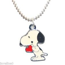 "Pendentif Enfant Ado "" Snoopy "" Bijoux Cartoon Argenté AF 1"