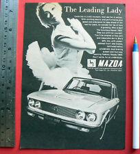 1970 vintage ad MAZDA 1800 SEDAN advertisement sales advertising old car advert