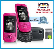 Nokia 2220  Pink in new condition - slide unlocked Mobile Phone Classic Brand