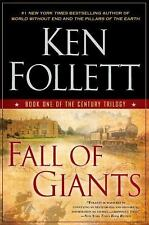 Fall of Giants: Book One of the Century Trilogy by Follett, Ken, Good Book