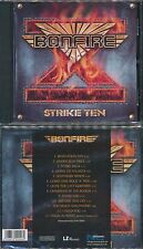 Bonfire-Strike TEN + 1 (2001, Remastered) Fireworks, Angel in White, melodic rock