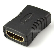 HDMI To HDMI Female F/F Converter Adapter for HDTV DVD