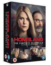 HOMELAND SEASONS 1-4 - DVD TV BOXSET