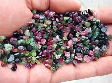 100g SMALL SIZE natural WATERMELON pretty PINK AND GREEN tourmaline Rough