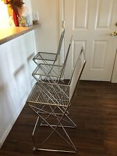 Designer Bar Stool by Till Behrens, Perfect Style for a Loft, Chrome