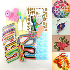1380 Strips Paper Quilling DIY Craft  Tools Kit Board Mould Crimper Comb Set