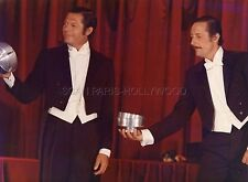JEAN ROCHEFORT  MARCELLO MASTROIANNI  SALUT L'ARTISTE  1973  PHOTO ORIGINAL #2