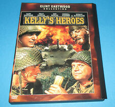 Kellys Heroes  DVD- Widescreen-  Clint Eastwood, Telly Savalas, Don Rickles EX