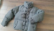 Women's ACNE Jeans Warm Down Wool puffer bomber coat jacket size L