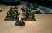 15mm flames of war ww2 British Platoon, tanks and support - painted