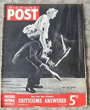 Picture Post Magazine November 17, 1951 Sex and the Citizen VINTAGE ADS Walls