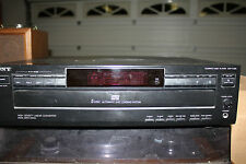 sony  cd multi 5 disc changer cp-c225