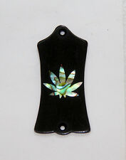 Truss Rod Cover with Pot Leaf Inlay will fit Gibson