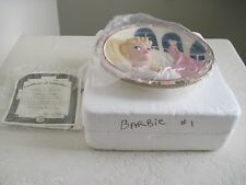Barbie Doll 3D Collector Plate ENCHANTED EVENING Forever Glamorous Barbie 1st