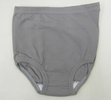 School Gym Knickers size 8-10 Age 13-15yrs Netball Briefs Stretchy Nylon Grey