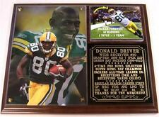 Donald Driver #80 Packers Rec Yards & Recptions Leader Retired Photo Plaque