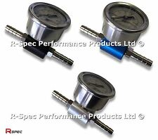 Pro Fuel Pressure Adaptor & Gauge For Toyota MR2 Celica GT4 VVTI Supra Turbo