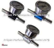 Pro Adaptador de Presión de Combustible & Gauge Para Nissan GTR GTIR 200 SX S14 S13 300ZX Turbo