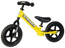 STRIDER 12 Sport Kids Balance Bike No-Pedal Learn To Ride Pre Bike YELLOW NEW