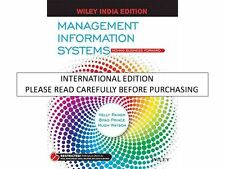 Management Information Systems: Moving Business Forward by Kelly Rainer, Brad Pr