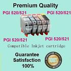 10x Ink Cartridge PGI520 CLI 521 for Canon MP550 MP980 MP540 PIXMA IP3600 IP4700