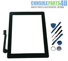 New iPad Digitizer Touch Screen (Black), fits iPad 3 & iPad 4, WiFi & 3G models