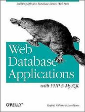 Web Database Applications with PHP and MySQL by David Lane and Hugh E....