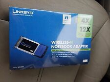 Cisco Linksys WPC300N Wireless Adapter Laptop PCMCIA Network Wireless-N G SEALED