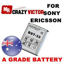 New Battery BST-33 For Sony Ericsson K800i W950i W880i W850i Z530i Z610i Z750i