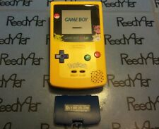 OEM RARE Pokemon Pikachu Edition Yellow System NEW SPEAKER&SCREEN GameBoy Color