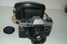 Kiev-20 Vintage Soviet SLR & MC Helios-81N Lens and Case. Nikon Mount. No.851720