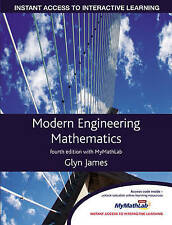 Modern Engineering Mathematics, Good Condition Book, Prof Glyn James, ISBN 97801