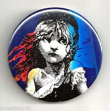 "Colm Wilkinson ""LES MISERABLES"" Judy Kuhn / Terrence Mann 1987 Broadway Pinback"