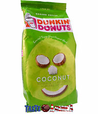 Dunkin Donuts Coconut Flavoured Ground Coffee 311g Bag American
