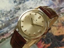 Vintage 1960's HAMILTON Manual Wind, Beautiful Dial, Serviced, One Year Warranty