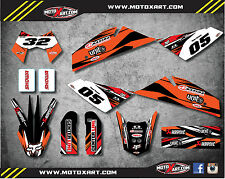 KTM 950 Super Enduro Custom Graphic Kit DIGGER STYLE decals / stickers