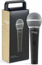 Stagg SDM50 SM58 STYLE Professional Dynamic VOCAL Microphone w Cable AND CASE