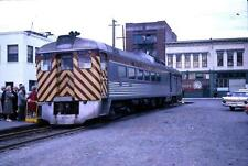 Photo. 1963-4. Vancouver Island Canada. Budd Car RDC-3 - train