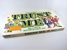 Parker Brothers TRUST ME Board Game of Hot Tips & Cold Cash Complete ©1981