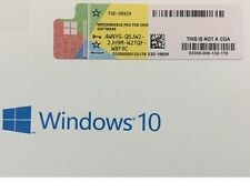 Scrap PC/Laptop with OEM Windows 10 Pro Professional 32 64bit License Sticker