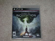 DRAGON AGE INQUISITION DELUXE EDITION...PS3...**SEALED**BRAND NEW**!!!!!