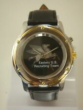 COLLECTABLE MEN'S EASTERN U.S RECRUITING TEAM WATCH WITH RED LIGHT & METAL BEZEL