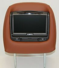 NEW 2013 Acura MDX Dual DVD Headrest Video Players - Ebony, Parchment, Umber +