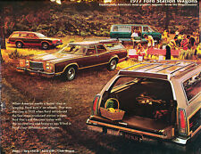 1977 Ford Wagon 16-page Car Sales Brochure Catalog - LTD II Pinto Squire