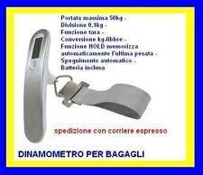 VALEX DINAMOMETRO DIGITALE PER BAGAGLIO 50 Kg