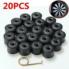 20PCS 17mm Wheel Nut Bolt Cover Cap For Volkswagen VW  Golf Passat 1K06011739B9