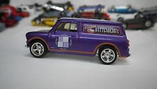 2016 Matchbox Purple Austin Mini Van Hot Wheels Custom Real Riders
